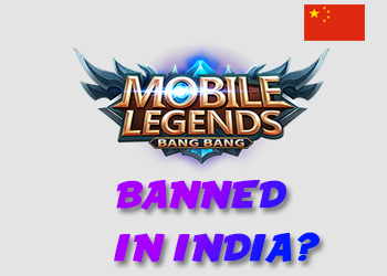Mobile Legends : Bang Bang Banned In India